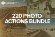 The FilterGrade Photoshop Actions Bundle