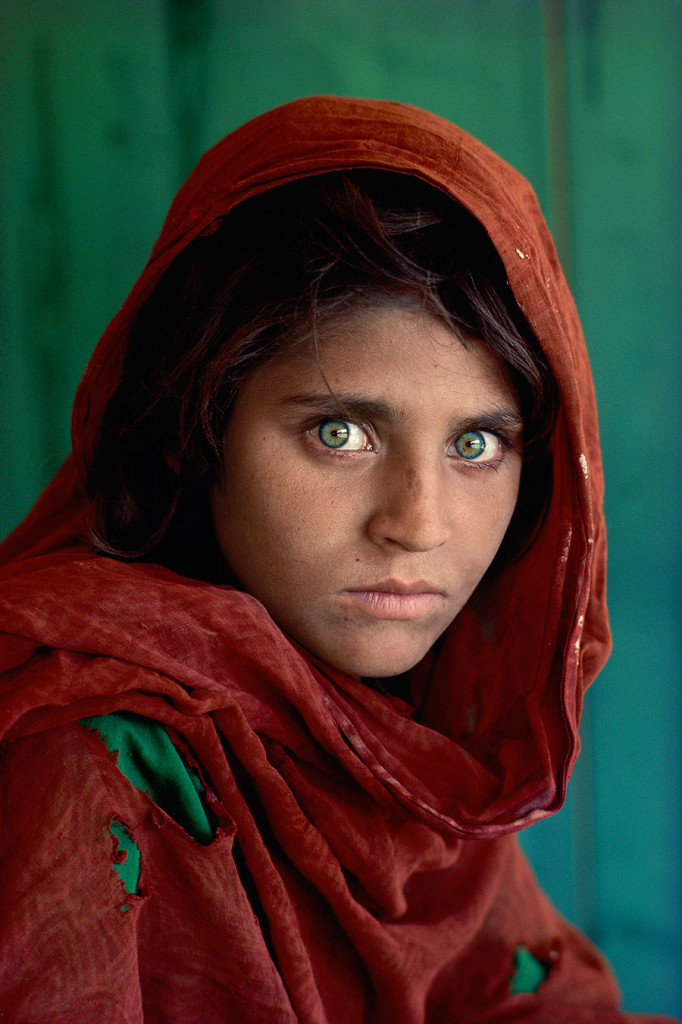 Afghan Girl Portrait