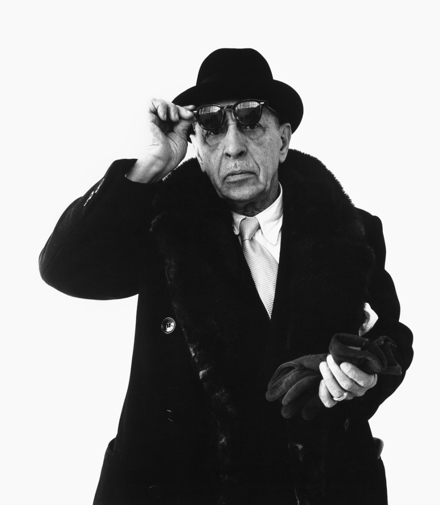 Richard Avedon Portraits of Igor Stravinsky