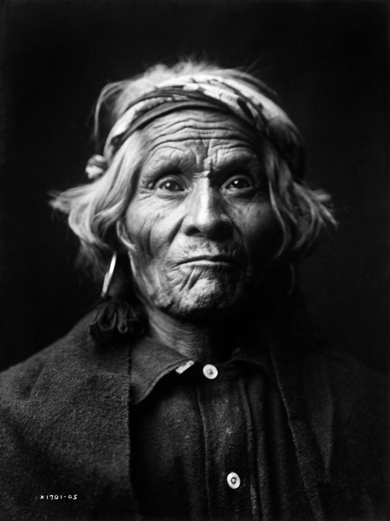 Wyemah Taos Indian Portrait by Edward S. Curtis