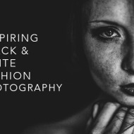 Inspiring Black and White Fashion Photography