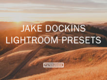 Jake Dockins Lightroom Presets for portrait, lifestyle, and landscape photography.