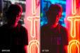 aaron carpenter night lightroom preset by taylor cut films