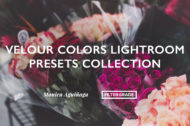 Velour Colors Lightroom Presets Collection by Monica Aguinaga