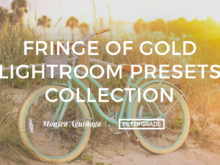 Fringe of Gold Lightroom Presets Collection by Monica Aguinaga