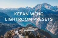 Kefan Weng Lightroom Presets