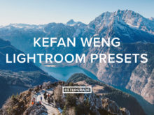 Kefan Weng Lightroom Presets