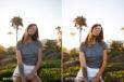 summer glow lightroom preset
