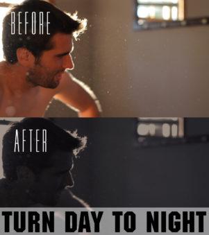 day to night adobe premiere pro preset
