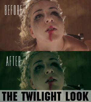 twilight film color grading preset