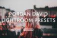 Pordan David Lightroom Presets
