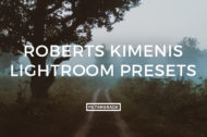 Roberts Kimenis Lightroom Presets