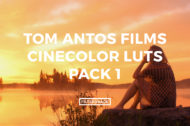 Featured Tom Antos CineColor LUTs Pack 1 - FilterGrade