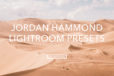 Jordan Hammond Feature Lightroom Presets