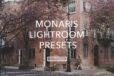 Monaris Feature Lightroom Preset