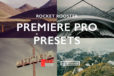 Rocket Rooster Premiere Pro Presets for video editing.