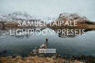 FEATURED Samuel Taipale Lightroom Presets Previews Lightroom Presets Previews - Taipale Brothers - FilterGrade Marketplace