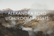 Featured Alexandra Ford Lightroom Presets - FilterGrade Marketplace