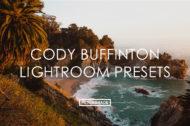 Featured Cody Buffinton Lightroom Presets - FilterGrade Marketplace