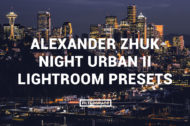 Alexander Zhuk Night Urban II Lightroom Presets