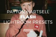 Featured Payton Hartsell Flash Lightroom Presets - FilterGrade Marketplace